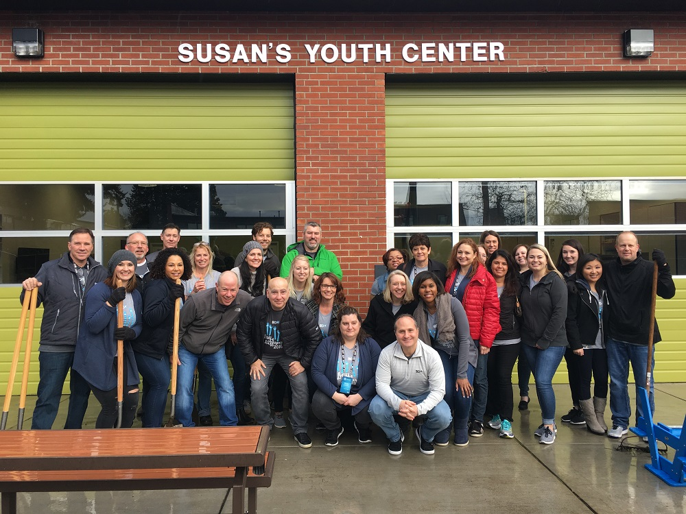 Susan's Youth Center, BDA volunteer group