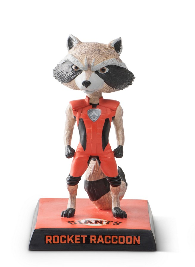 SF Giants, Marvel Rocket Raccoon Bobblehead