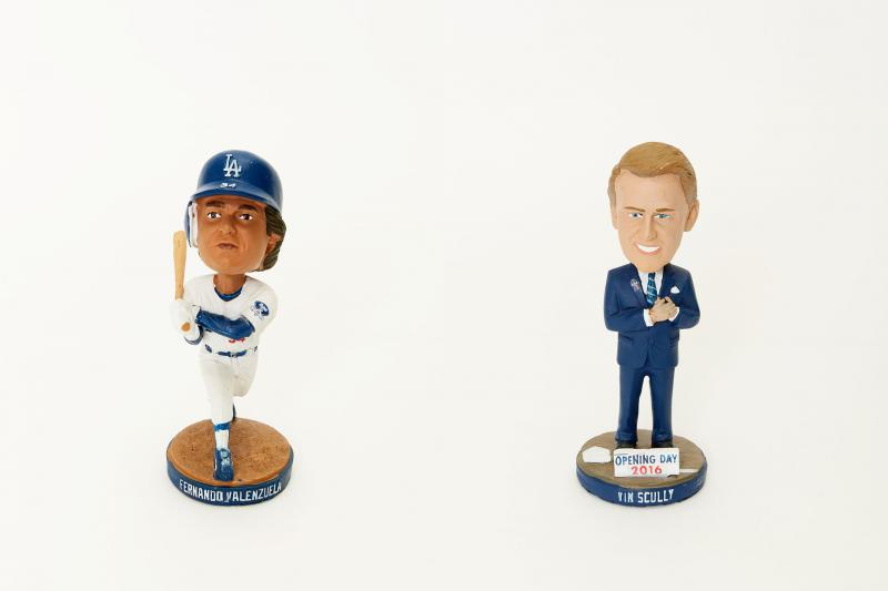 Fernando Valenzuela Bobblehead and Tim Scully Opening Day Bobblehead | Bleacher Report