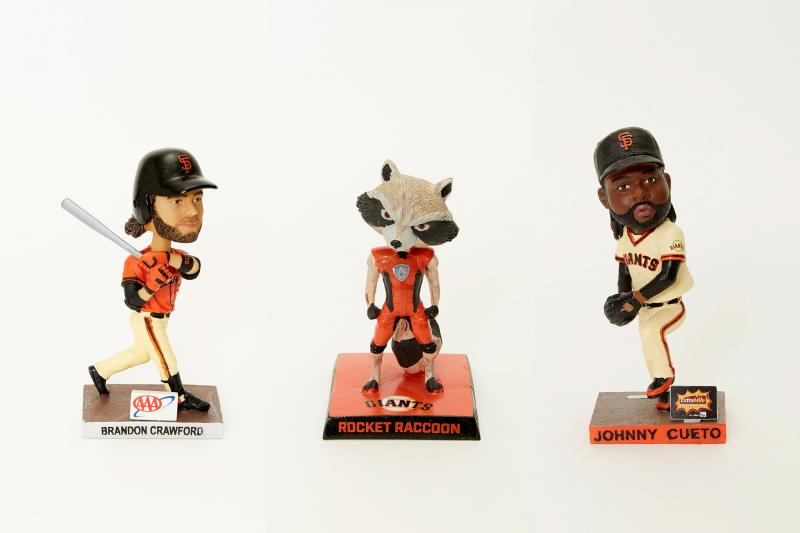 Giants Bobbleheads, Brandon Crawford, Rocket Raccoon, Johnny Cueto | Bleacher Report
